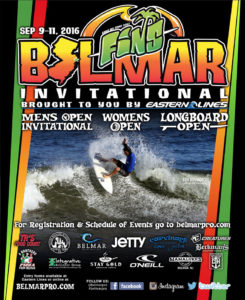 2016 FINS Belmar Invitational brought to you by Eastern Lines Surf Shop